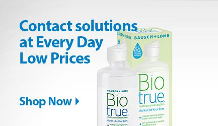 Contact Solutions at Everyday Low Prices