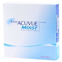 1-DAY ACUVUE MOIST 90pk contact lenses