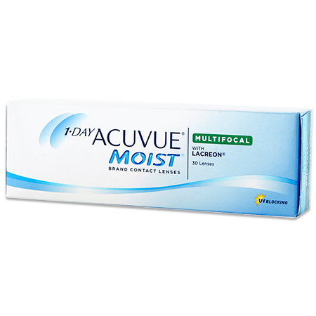 1-DAY ACUVUE MOIST MULTIFOCAL, 30  Pack