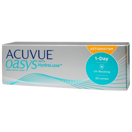 ACUVUE OASYS 1-Day for Astigmatism 30 Pack contacts