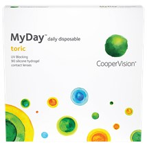MyDay Toric 90 Pack contact lenses