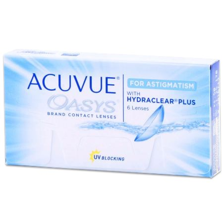 ACUVUE OASYS for ASTIGMATISM contacts