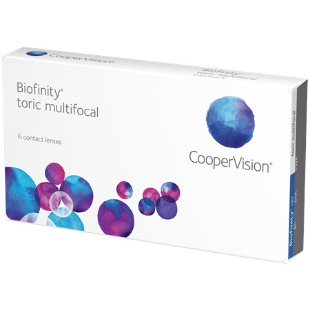Biofinity Toric Multifocal contacts