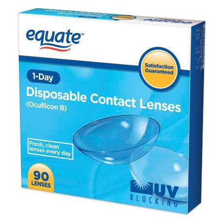Equate 1-Day 90 Pack contacts