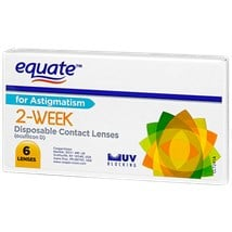 Equate 2 Week For Astigmatism contact lenses