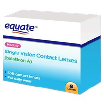 Equate Monthly contact lenses