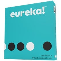 eureka! 90 Pack contact lenses