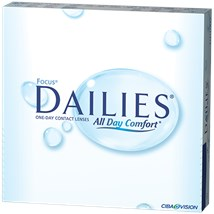 FOCUS DAILIES 90pk contact lenses