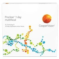 Proclear 1 day multifocal 90pk contact lenses