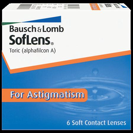 SofLens Toric for Astigmatism – 6 Pack
