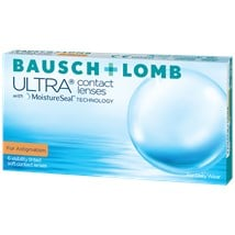 Bausch + Lomb ULTRA for Astigmatism contact lenses
